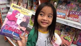 Video Cara Supaya Anak Semangat Belajar Membaca | Zara Cute Belanja Buku | Kecil Kecil Punya Karya MP3, 3GP, MP4, WEBM, AVI, FLV Desember 2018