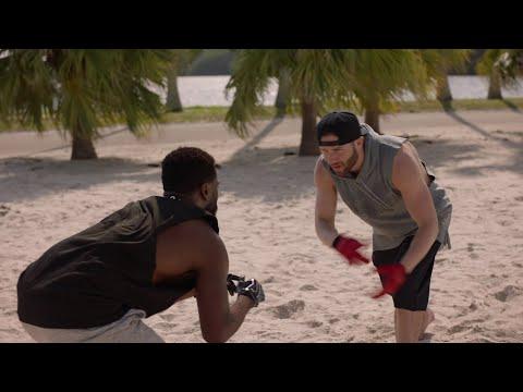 Ballers Season 2 Finale - Ricky Jarret catching with Patriots Julian Edelman & Danny Amendola
