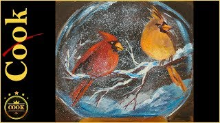 How to Get Rid of Artist Block, which can happen to any artist from time to time, is solved in this creative and funny acrylic information paced  lesson filmed live. Colourful cardinals sit in  a snow covered branch dusted by a light snowfall. After all who would not be inspired by these fat birds that Jon thought were robins, when Christmas is so far away? You have gobs of time, 167 shopping days left to finish these before the holiday rush. How inspiring is that. The Special Offer can be found here: https://gingercooklive.gallery/special-offerThis offer expires at 11:59pm on July 25, 2017.Please SUBSCRIBE to this channel to show your support and to stay informed about new releases and live broadcasts. Be sure to TURN ON the alarm under the little bell.Being the GOLD STANDARD in acrylic painting tutorials, Ginger Cook will be exploring the Fine Art of Acrylic Painting by offering tips and tricks to help you with your own acrylic paintings. During her live broadcasts, Ginger will be taking questions and may demonstrate the answer when possible.Learn more about acrylic painting lessons:WEBSITE: https://gingercooklive.galleryPINTEREST: https://gingercooklive.gallery/yt-pinterestFACEBOOK: https://gingercooklive.gallery/yt-facebookNEWSLETTER & FORUM SIGN UP FORM: https://gingercooklive.gallery/yt-newsletter-forumContact Information:Website: https://gingercooklive.gallery/contact-us/