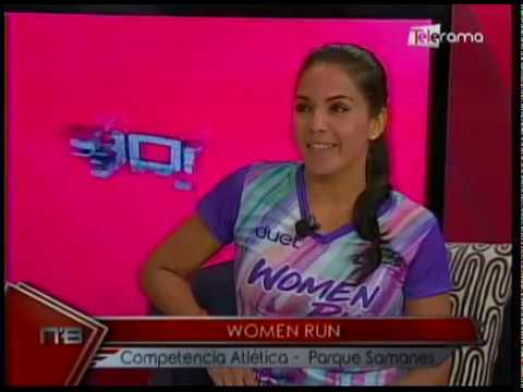 Women Run competencia atlética Parque Samanes