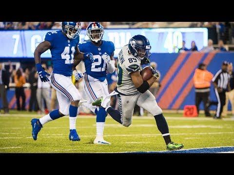 Week 7: Seahawks at Giants Recap (видео)