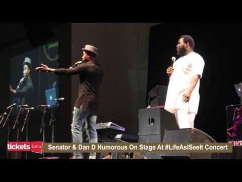 Comedians Senator and Dan D Humorous Hilarious Moments at Julius Agwu's Life As I See It Concert