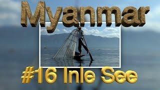 Heute stand das letzte Highlight unserer Myanmar-Rundreise an, der Inle See. Dieser Süßwassersee liegt nicht ganz 900 Meter...