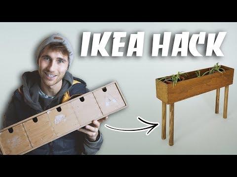 IKEA HACK - DIY Moppe upcycling zum Pflanzen Regal  EASY ALEX