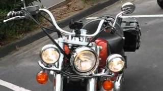8. Titian's 2006 Honda Shadow Aero VT750