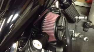 10. 2008 Yamaha V-Star gas cap fail, Fuel filter change and Air filter update.