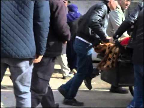 Refik Tekin'in kamerasından Cizre'de sivillerin vurulma anı