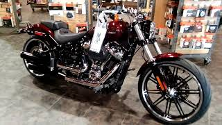 7. 2018 Harley-Davidson Softail Breakout motorcycle information-Prices-for sale