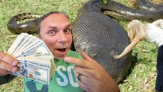 OFFERING $50,000 for a 30 FOOT SNAKE!! CLAIM YOUR PRIZE!! | BRIAN BARCZYK by Brian Barczyk