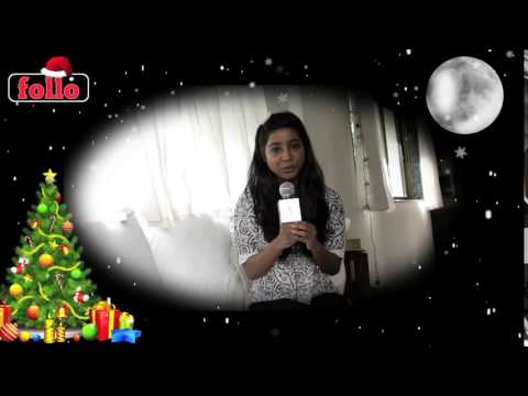 Shilpa Rao Wishes Cristmas & New Year On follo