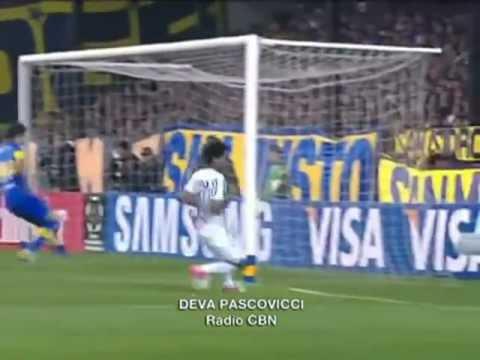 Um gol hist�rico, narra��o de r�dio do gol de Romarinho