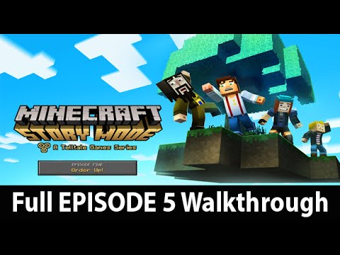 Minecraft Story Mode Episode 5 Full Walkthrough NO Commentary w/ Ending