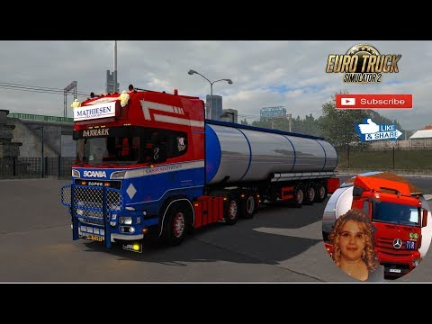 Scania + Cistern Trailer Mathiesen Transport 1.34.x