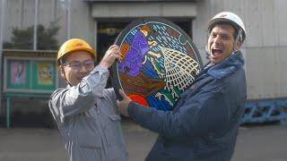 Video Japanese Manhole Covers: Drainspotting Adventure & Factory Tour ★ ONLY in JAPAN MP3, 3GP, MP4, WEBM, AVI, FLV Juli 2018