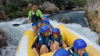 Omis Croatia  city photos gallery : Rafting on the Cetina River. Omis, Croatia