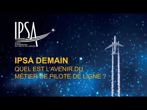 IPSA Demain - QUEL EST L'AVENIR DU MÉTIER DE PILOTE DE LIGNE ? (rediffusion du live)