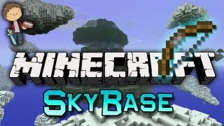 Minecraft: SkyBase Warriors Mini-Game w/Mitch&Friends! Game 1 - Bow N' Arrows!