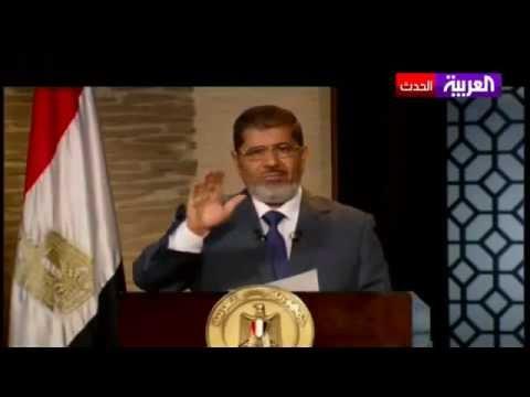 من أعظم كلمات الرئيس المصري محمد مرسي في خطابه