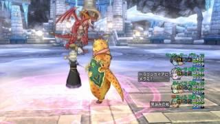 ドラゴンクエストⅩ ドラゴンガイア討伐 3分29秒♪高画質!
