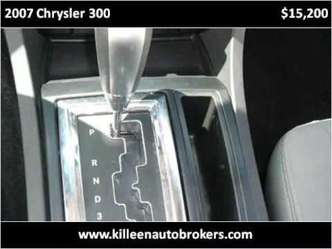2007 Chrysler 300 Used Cars Killeen TX