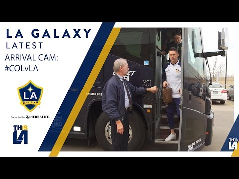 Video: ARRIVAL CAM: LA Galaxy arrive to Dick's Sporting Goods Park #COLvLA