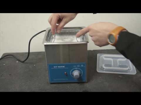 Ultrasonic cleaner, 1.3l, 50W VGT-1613T
