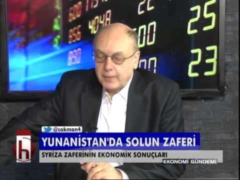 Dr. Cüneyt Akman'la Ekonomi: Syriza'nın zaferi piyasaları nasıl etkileyecek?