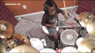 Holy Sh*t! This 7 Year Old Drummer Is Great!