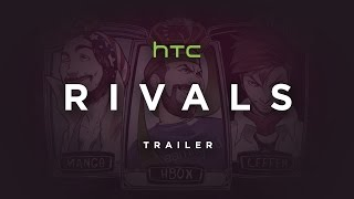 HTC Rivals | Teaser Trailer (Focuses on Leffen, Mang0, Hungrybox)