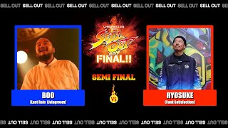 Boo vs Ryosuke – SELL OUT 2019 FINAL / SEMI FINAL