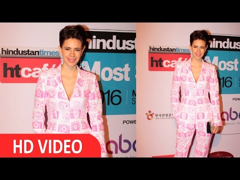 Kalki Koechlin At HT Mumbai's Most Stylist Awards