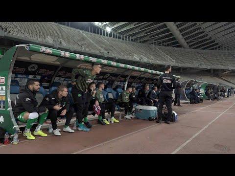 Video - Επικό σκηνικό στο ΟΑΚΑ: Ο Κολοβέτσιος απορούσε όταν του είπαν να μπει στο ντέρμπι