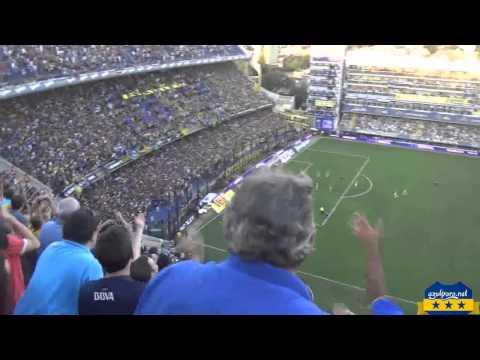 Boca Juniors vs estudiantes torneo final 2014 - Aliento de la 12 - Azulyoro.net