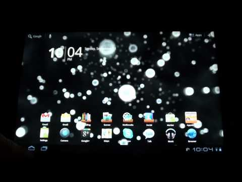 Video of Neon Microcosm Live Wallpaper