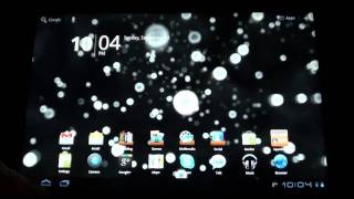 Neon Microcosm Live Wallpaper YouTube video