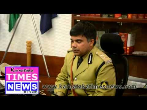 M Chandra Sekhar takes charge as new Mangaluru Police Commissioner
