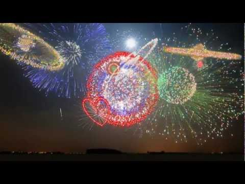 Imagens de feliz ano novo - New Years 2013 - Synchronized Epic Music (Heart of Courage) - FWSim Fireworks Display - HD