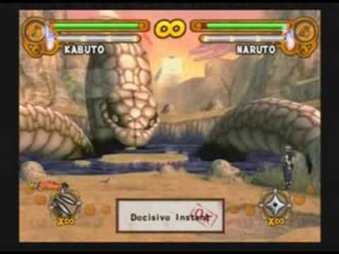 Naruto: UN3 - Kabuto Moveset