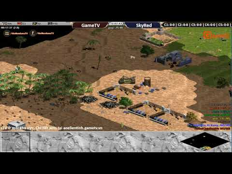 AOE | 4vs4 Random GameTV vs Skyred ngày 27 10 2017.BLV:G_man