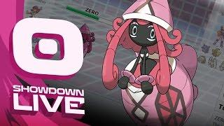Pokemon Sun and Moon! Showdown Live: Enter Tapu Lele - Tapu Lele Showcase! by PokeaimMD