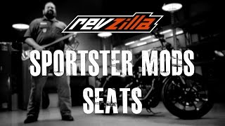 10. Harley Sportster EP4 - Seat Modification at RevZilla.com