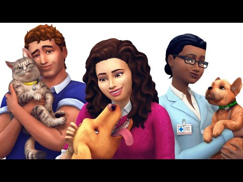 FIRST LOOK at The Sims 4 PETS!
