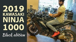 7. 1st ever review 2019 Kawasaki NINJA 1000 !! Exhaust | Walkaround | Detail Specs