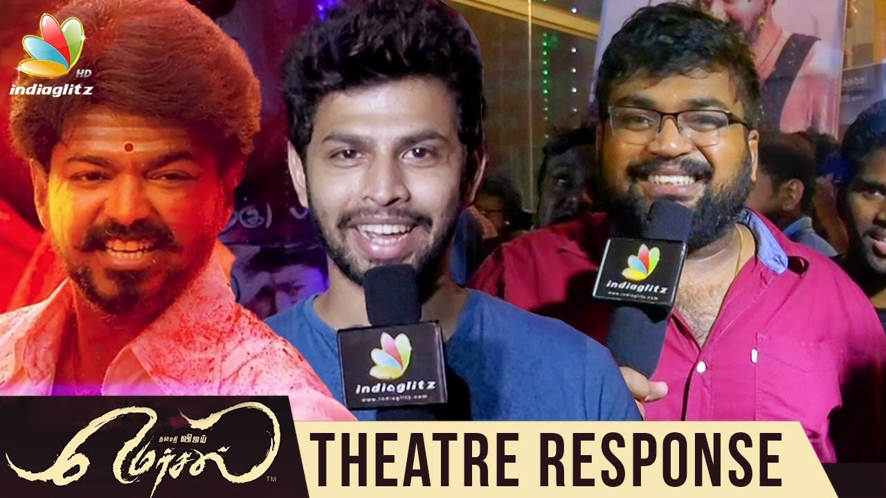 Mersal Rohini Theatre Response | Public Review & Reaction, Vijay Fans Celebration