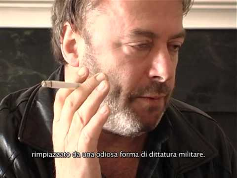 A new and previously unreleased interview with Christopher Hitchens