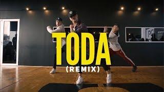TODA (REMIX) || ALEX ROSEL*RAUW ALEJANDRO* LENNY TAVAREZ*LYANNO*CAZZU  || COREOGRAFÍA SEBA CARREÑO