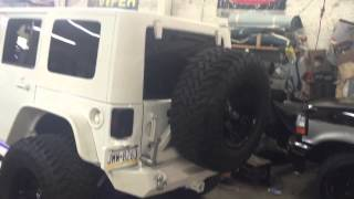 Jeep wrangler completely customized
