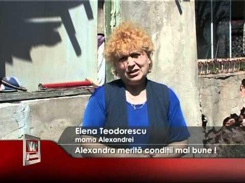 Alexandra merită condiţii mai bune!