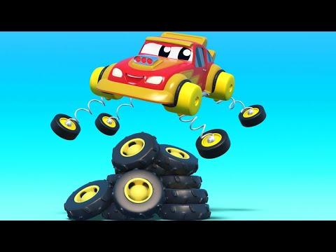 Primeiro de abril pneus saltitantes   | InvenTom, o caminhão de reboque | Cidade do Car