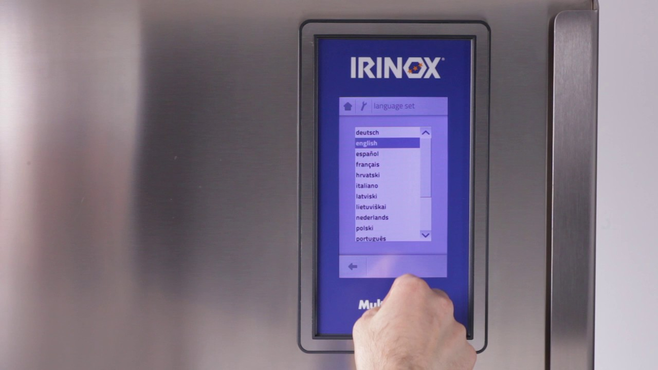 Irinox Multifresh MYA Tutorial - 15 First use of Multifresh